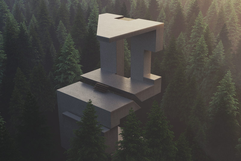 Minimalist Forest