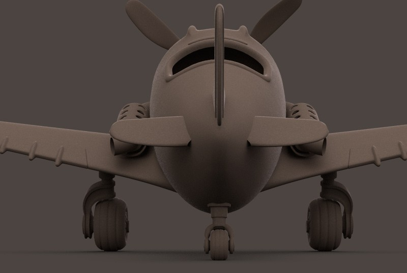 Toonplane
